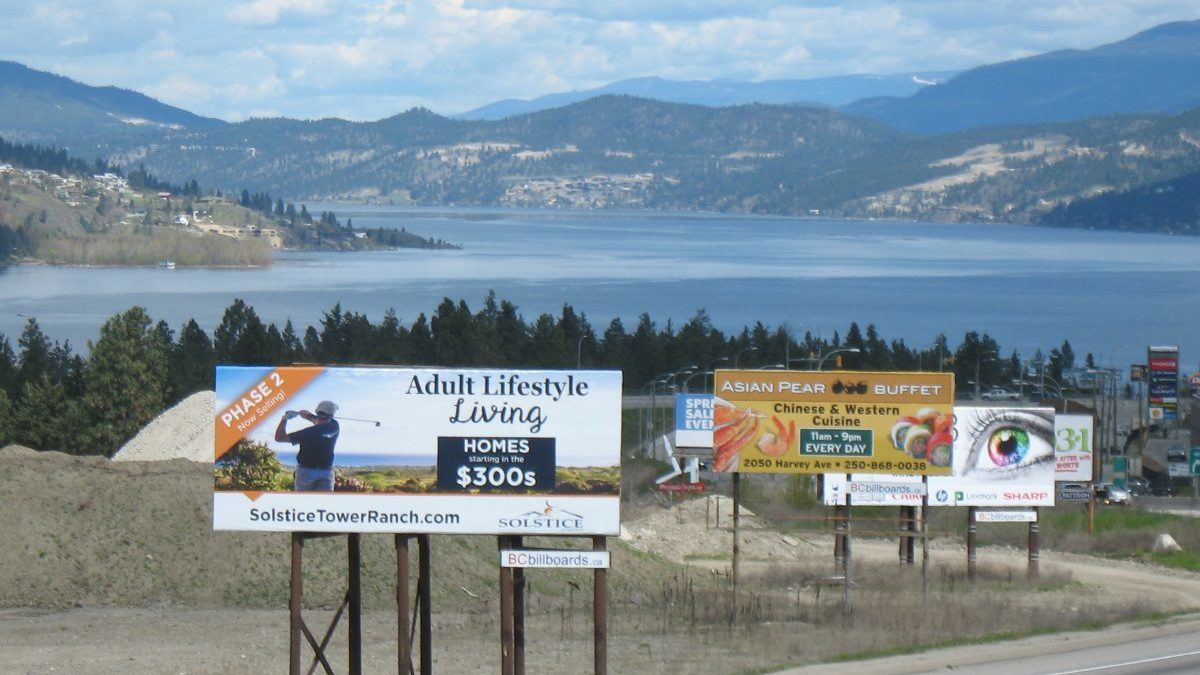 BC Billboards Kelowna - Standard Billboards