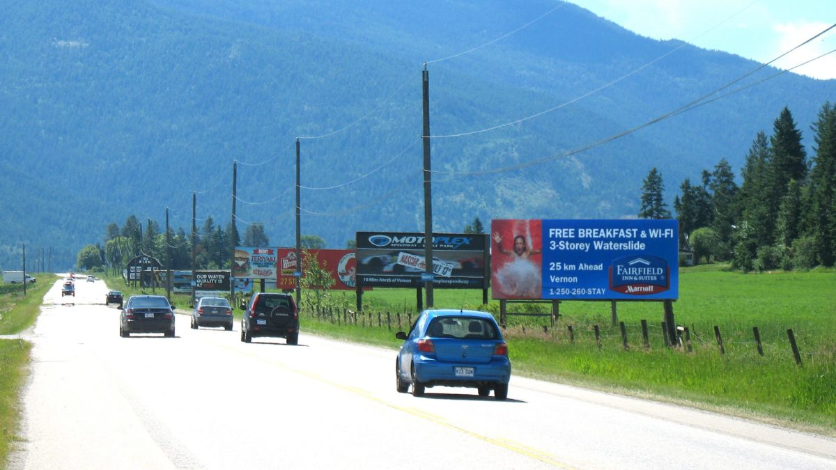 BC Billboards Kelowna - Standard Billboards V1