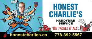 BC Billboards Kelowna - Honest Charlie Billboard