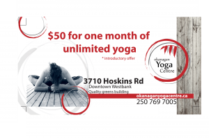 BC Billboards Kelowna - OkanaganYogaCentre