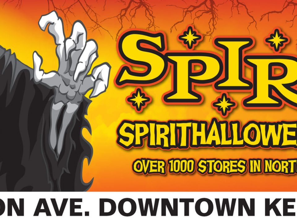 BC Billboards Kelowna - Spirit Halloween Billboard