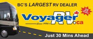 BC Billboards Kelowna - Voyager RV